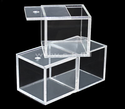 clear small acrylic display case