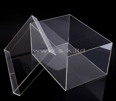 plastic shoe box with lid