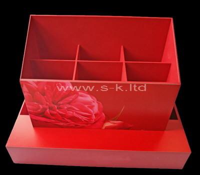 6 compartment plastic box