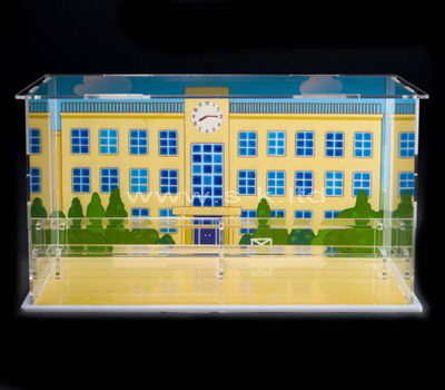 plexiglass clear display case