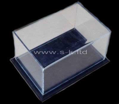 lucite showcase display case