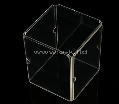 lucite shadow box display case