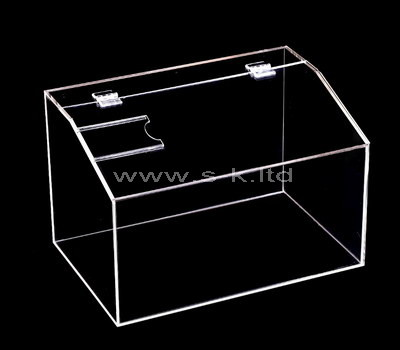 transparent acrylic display box with lid