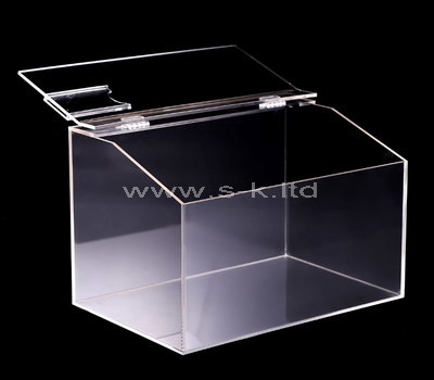 lucite display box with lid