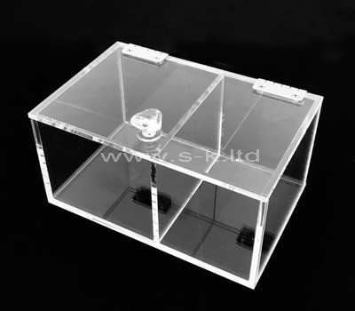 perspex display box with lid