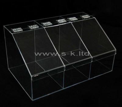 plexiglass display box with lid