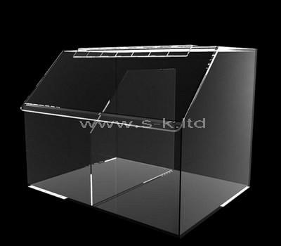 perspex 2 compartment box