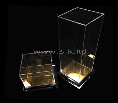 clear 5 sided acrylic display box
