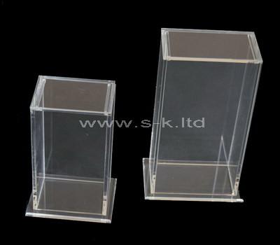 acrylic tall display case