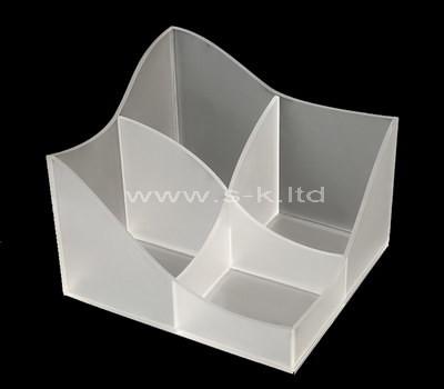 plexiglass 4 compartment box