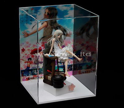 clear plastic display case for figures