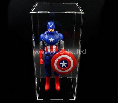 lucite star wars action figure display case