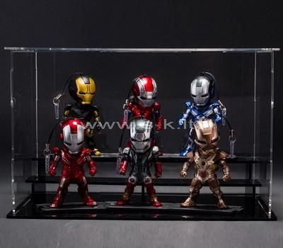 plexiglass collectible figurine display case