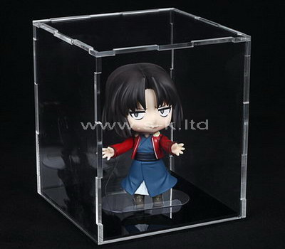 lucite figurine display box
