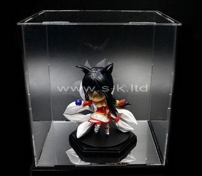 acrylic single action figure display case