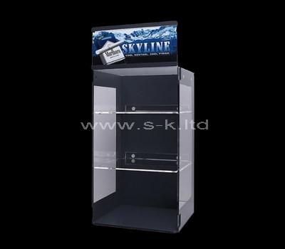 plexiglass display cabinet for small items