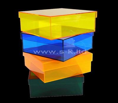 large kraft box with lid