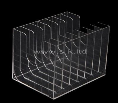 clear 8 compartment plastic box