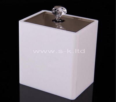 lucite storage box with lid