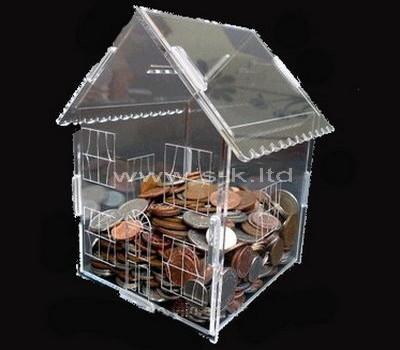acrylic house donation box