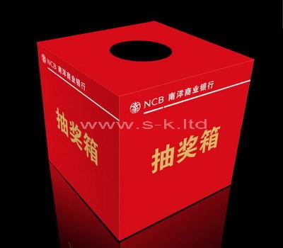 raffle box ideas