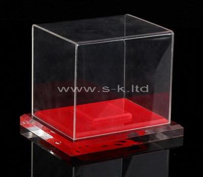acrylic standing display case