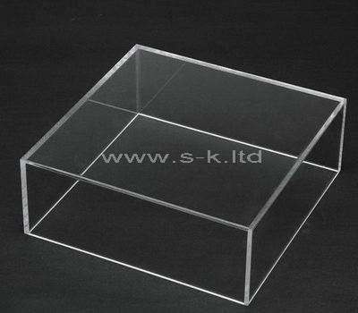plexiglass clear display box