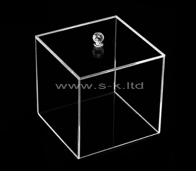 clear square display box