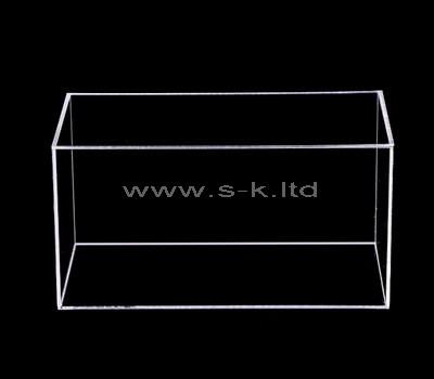 clear plastic box display case