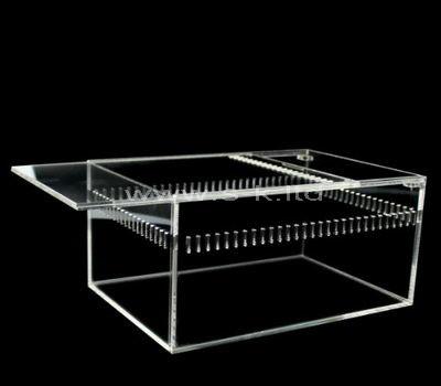 perspex sliding lid box