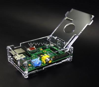 raspberry pi plexiglass case