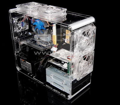 perspex computer case