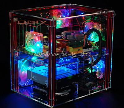 acrylic computer case