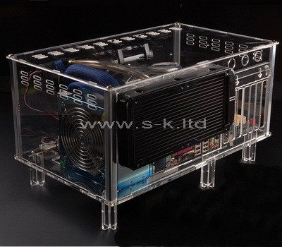 clear acrylic computer case
