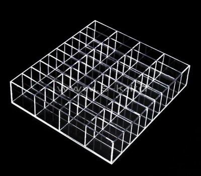 acrylic 40 compartment storage box