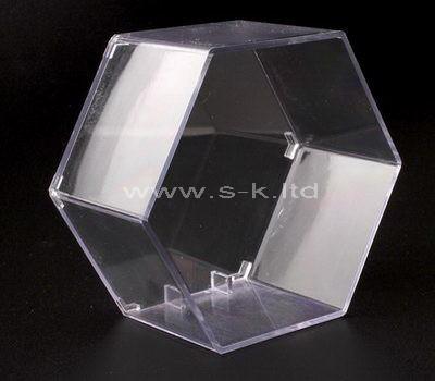 acrylic hexagon display box