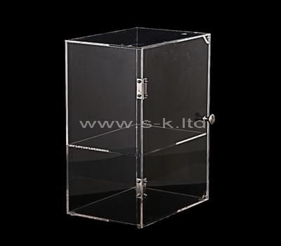 clear tabletop display case