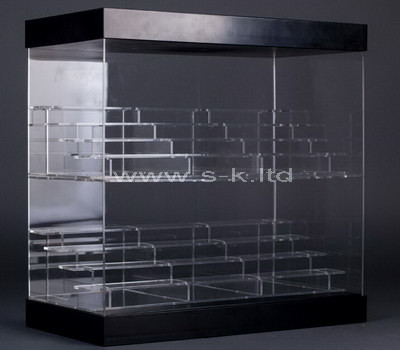 clear collectible display cabinet