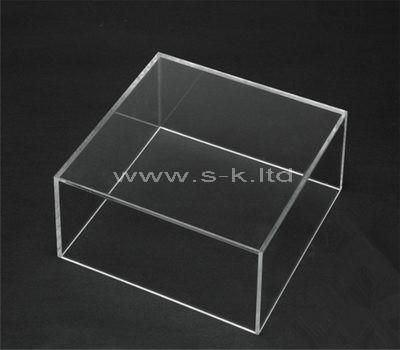 clear acrylic shadow box display