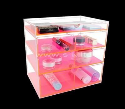 clear makeup case