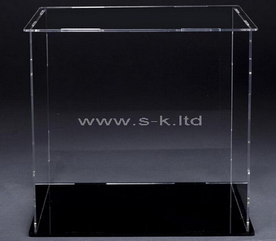 perspex standing display case