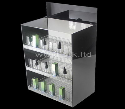 lucite display showcase cabinet