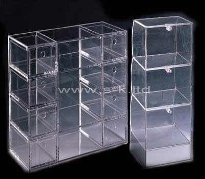 perspex display showcase cabinet