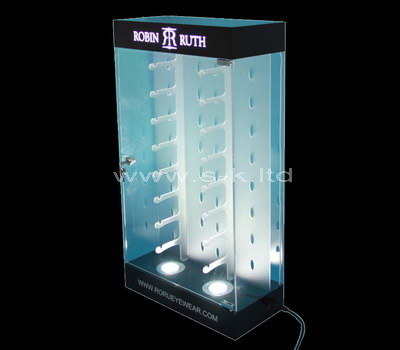 acrylic display cabinet with shelves