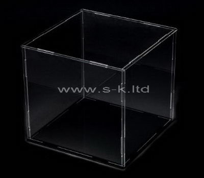 lucite living room display case