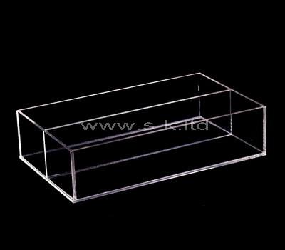 clear cheap acrylic box