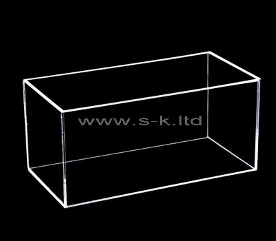 Clear plexi glass box