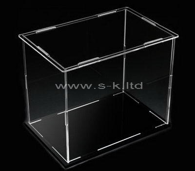 clear acrylic table top display case