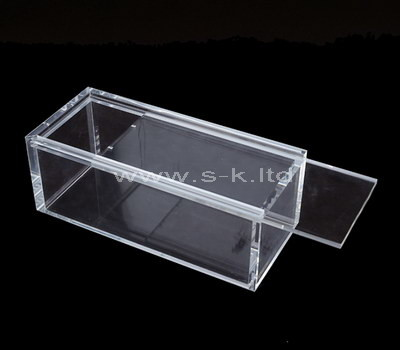 clear small acrylic display boxes
