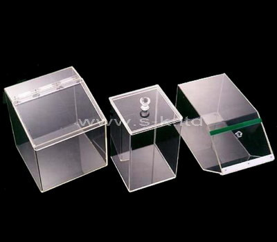 acrylic box with a lid